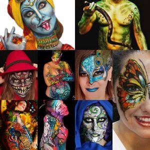 Body Art y Facepainting en Madrid