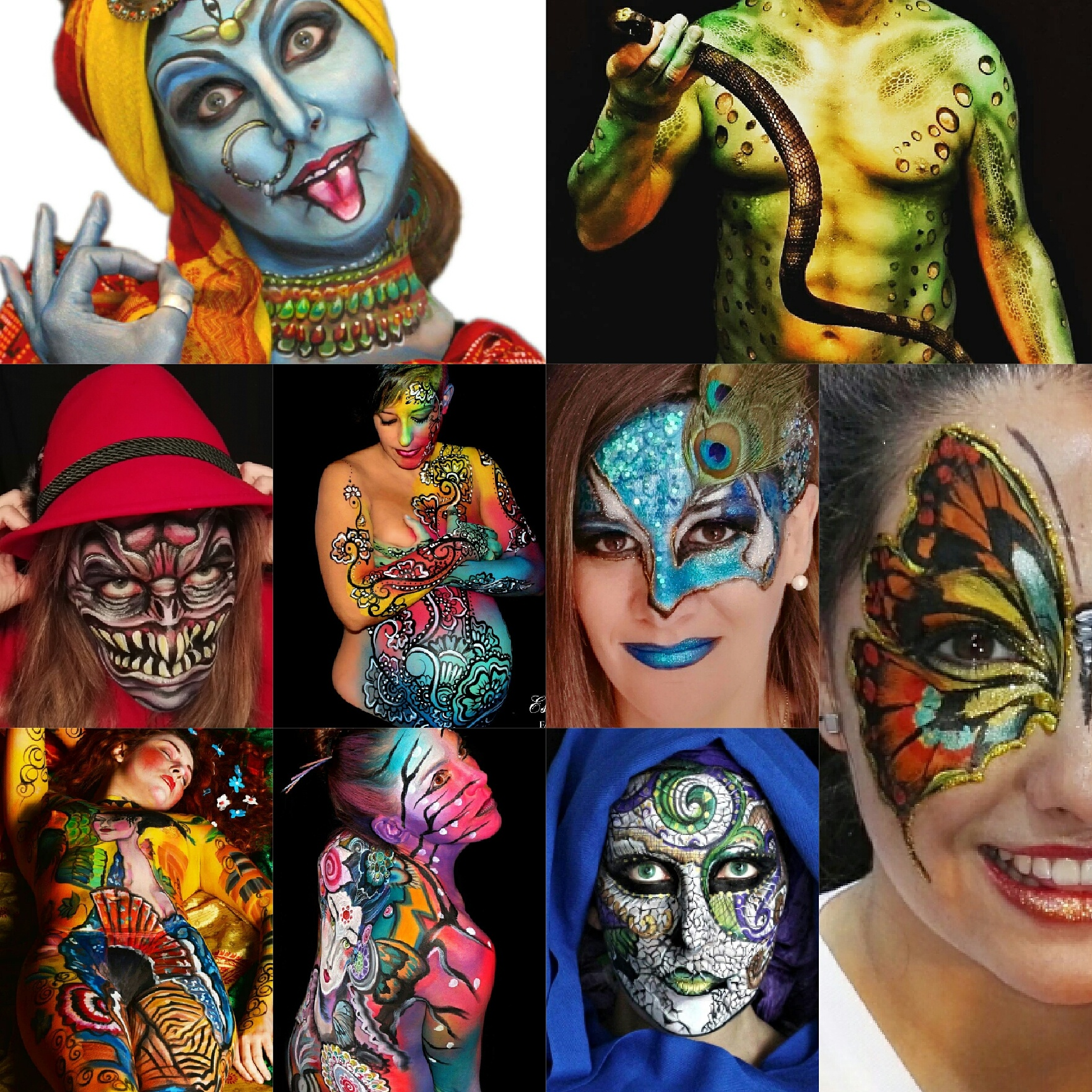 Body Art y Facepainting en Madrid