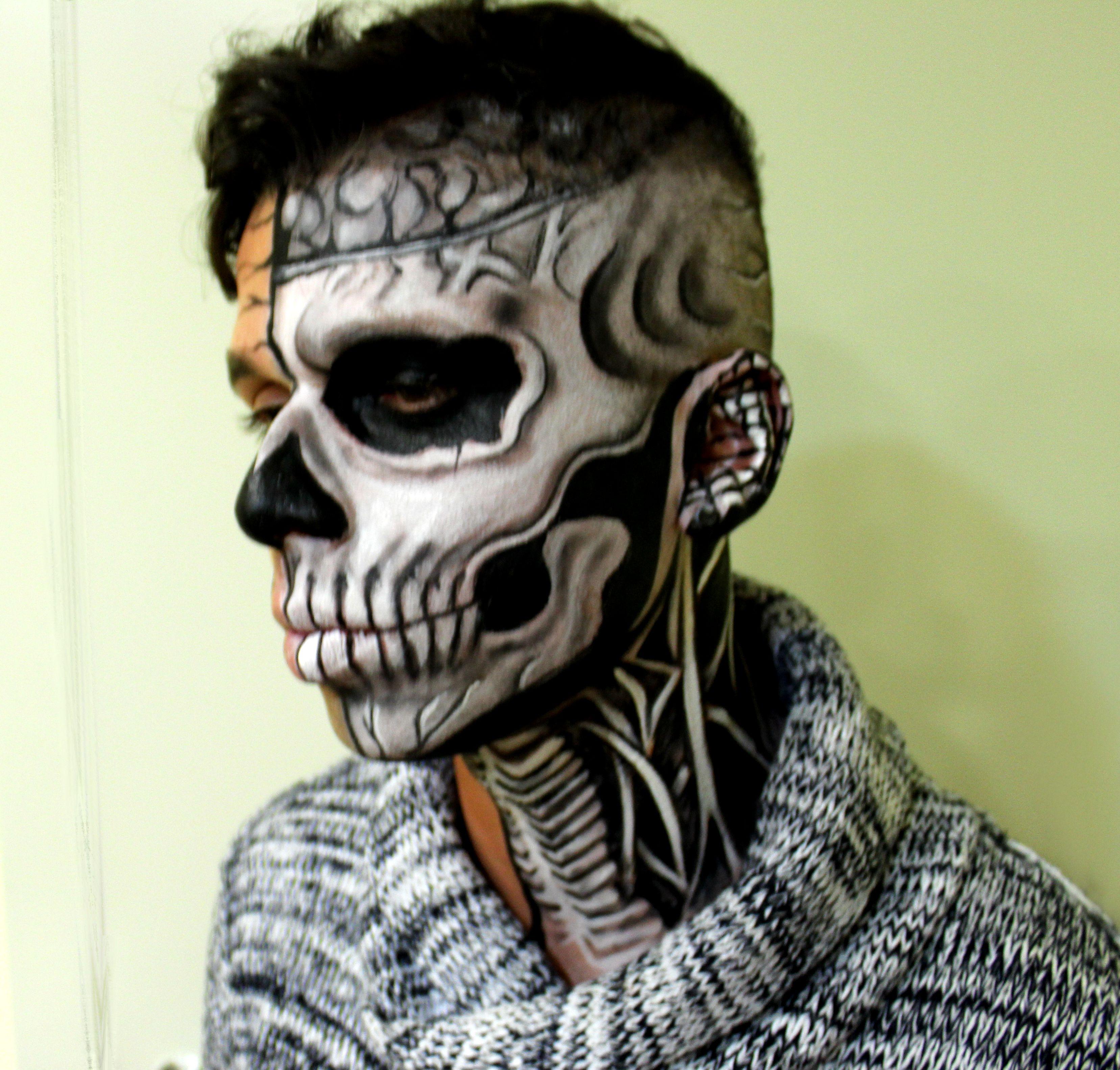 Facepainting Halloween, contratación pintacaras Halloween