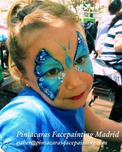 facepainting mariposa