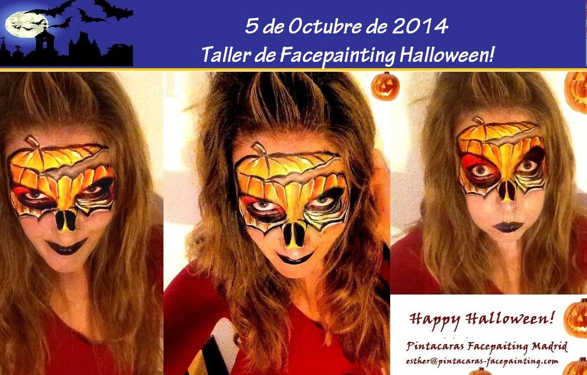 Curso de Pintacaras Halloween