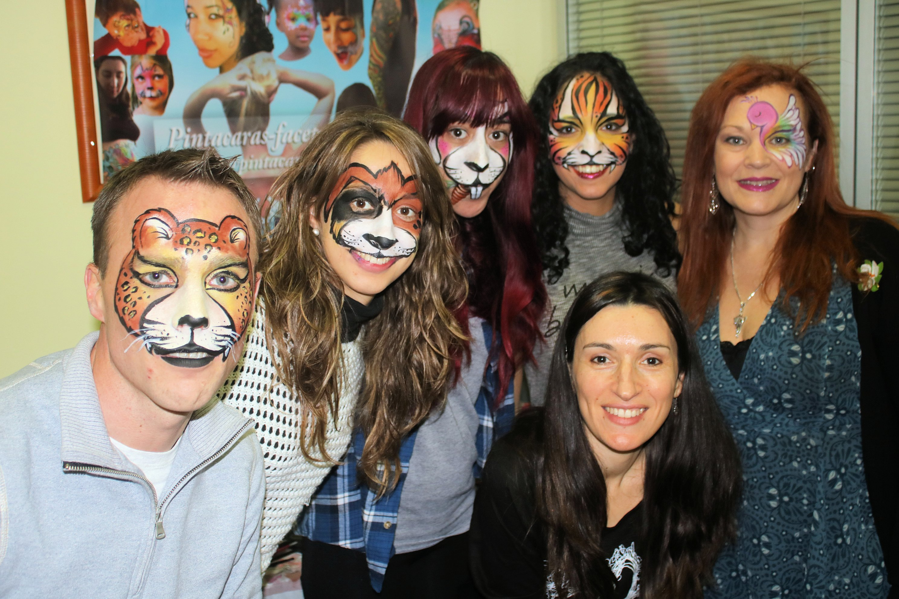 Cursos de Facepaint, cursos de maquillaje de fantasía