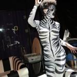 bodypaint cebra