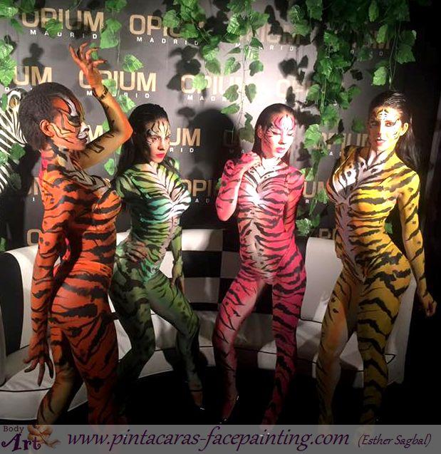 bodypaint tigre