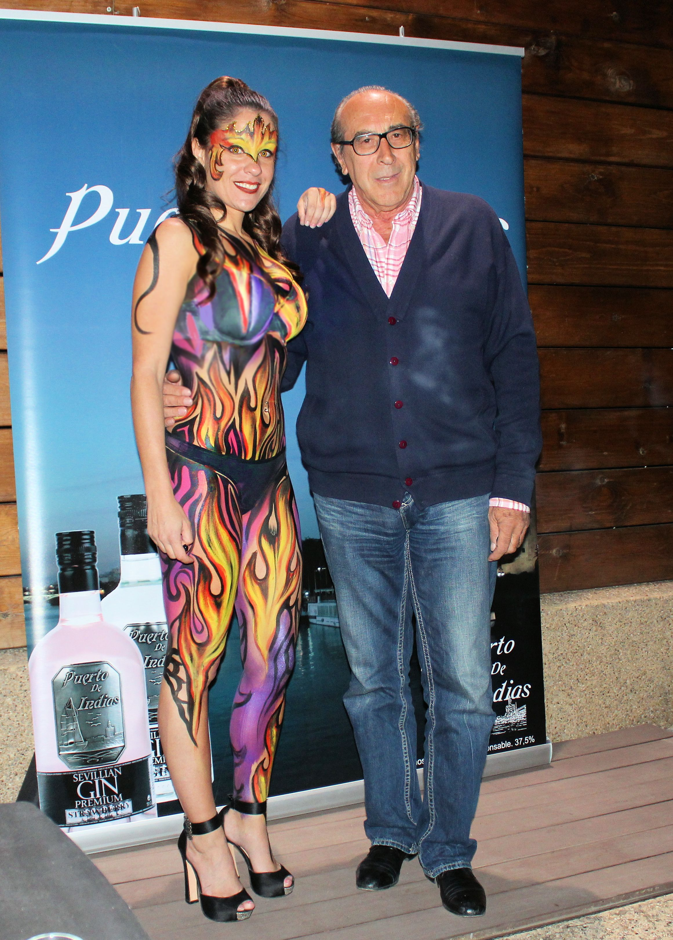 Bodypaint en Madrid inauguración Local en las Rozas.