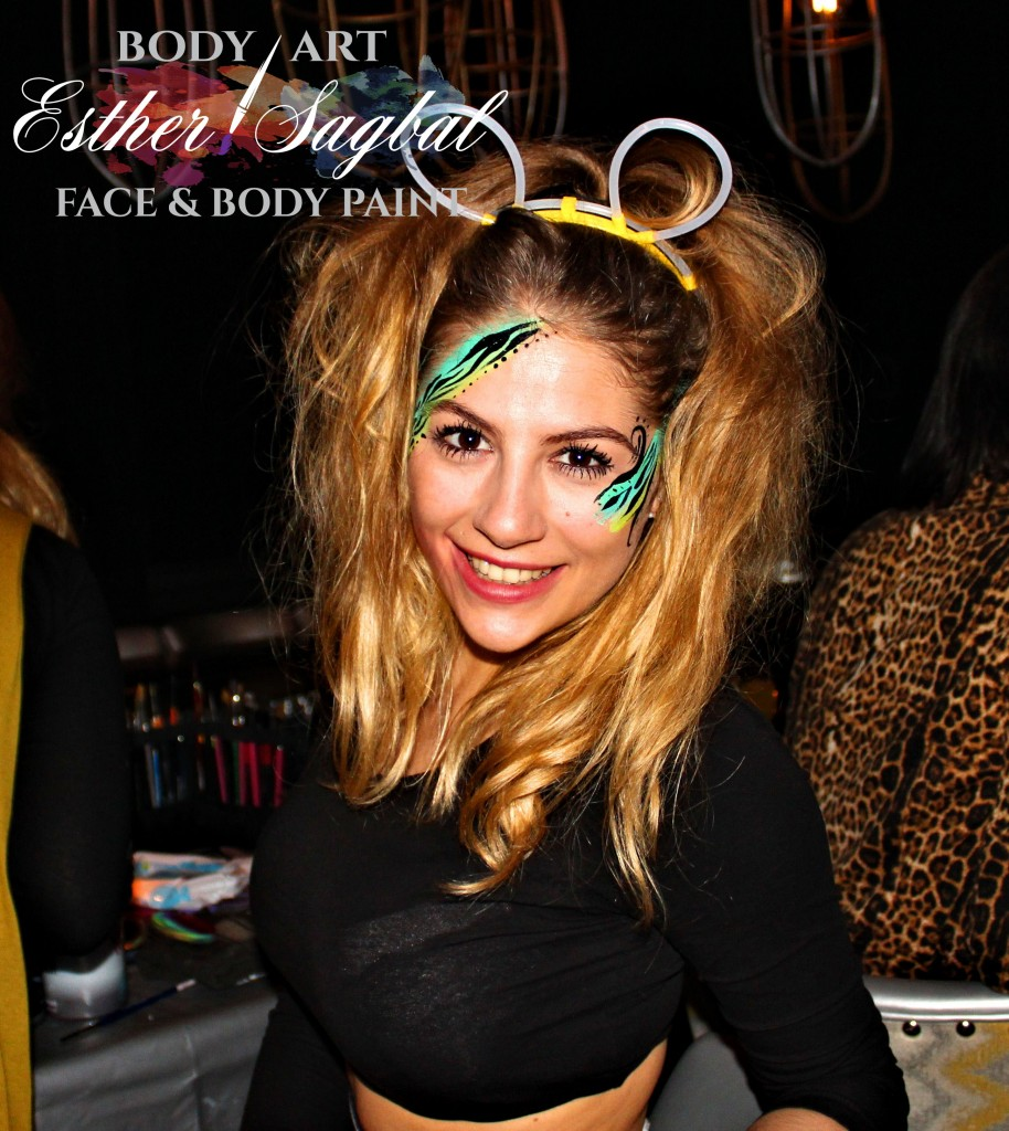 Maquillaje de fantasía en discotecas y fiestas nocturnas