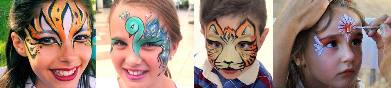 Pintacaras Madrid Maquillaje infantil de fantasía Pintacaritas profesional