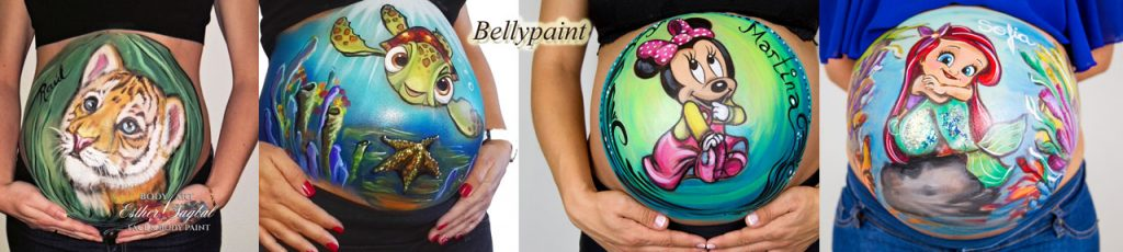 Bellypaint Bodypaint embarazadas.