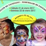 Taller de facepaint Madrid
