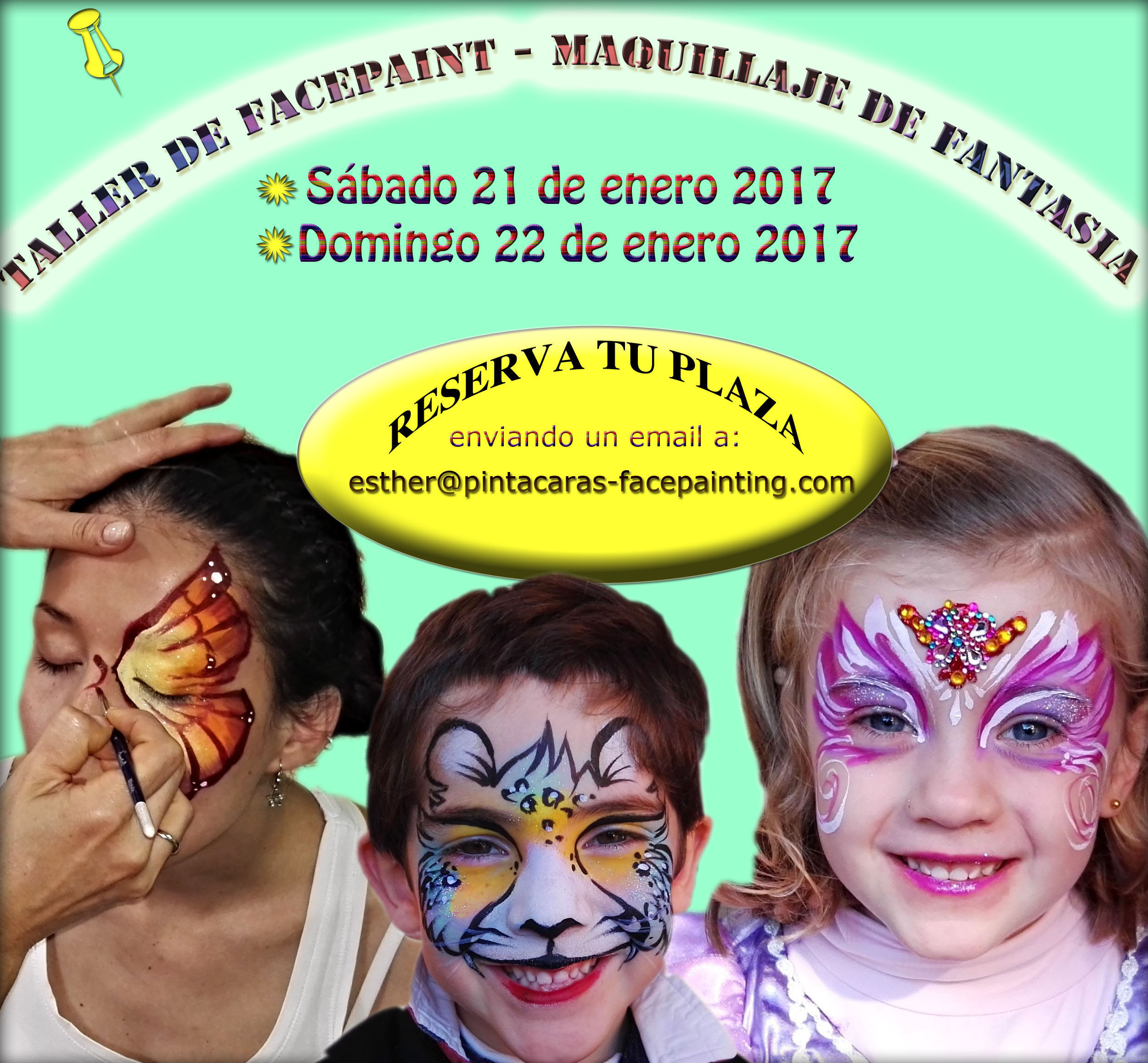 Taller de facepaint en Madrid