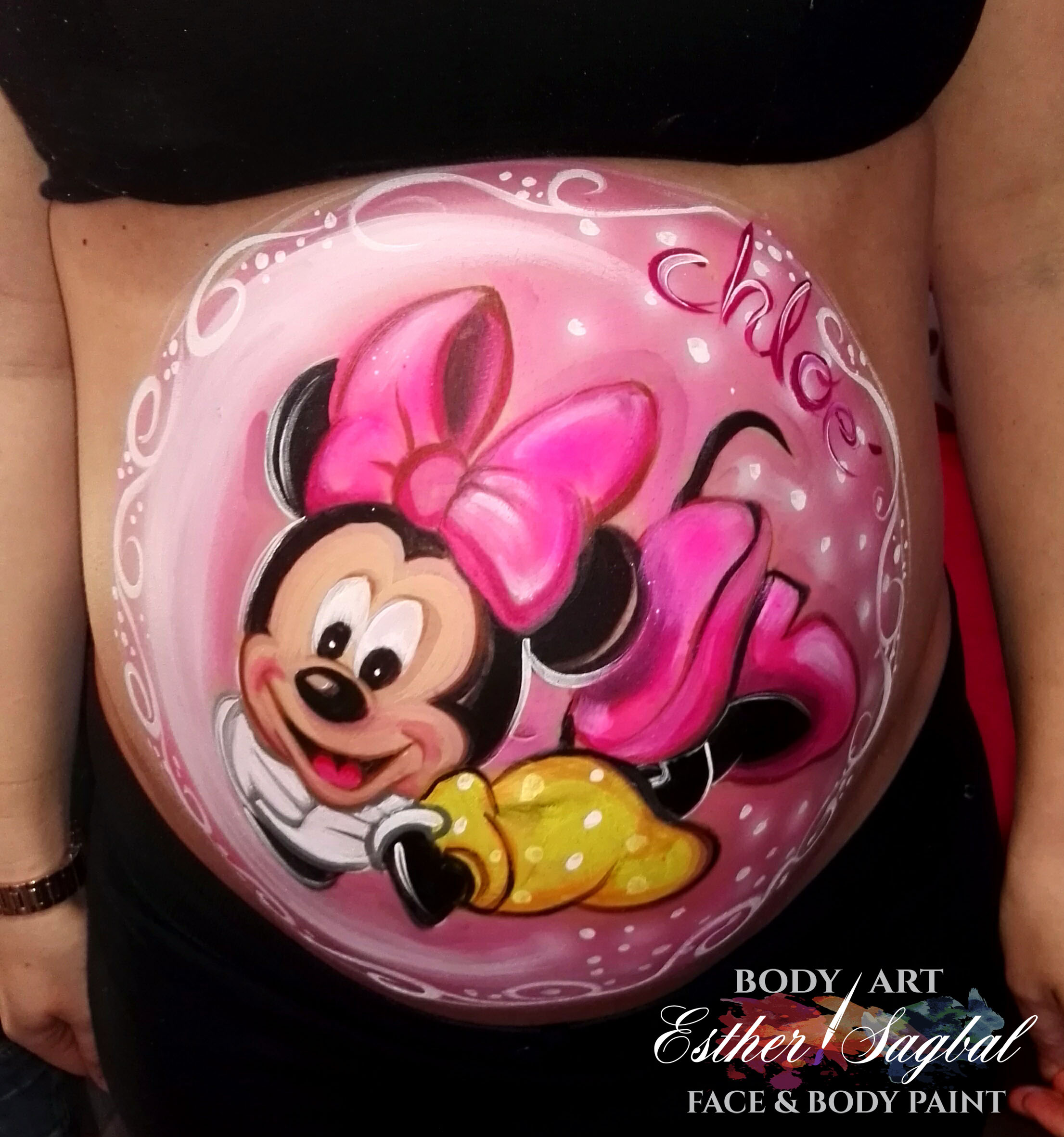Ideas para pintarse la barriga embarazo