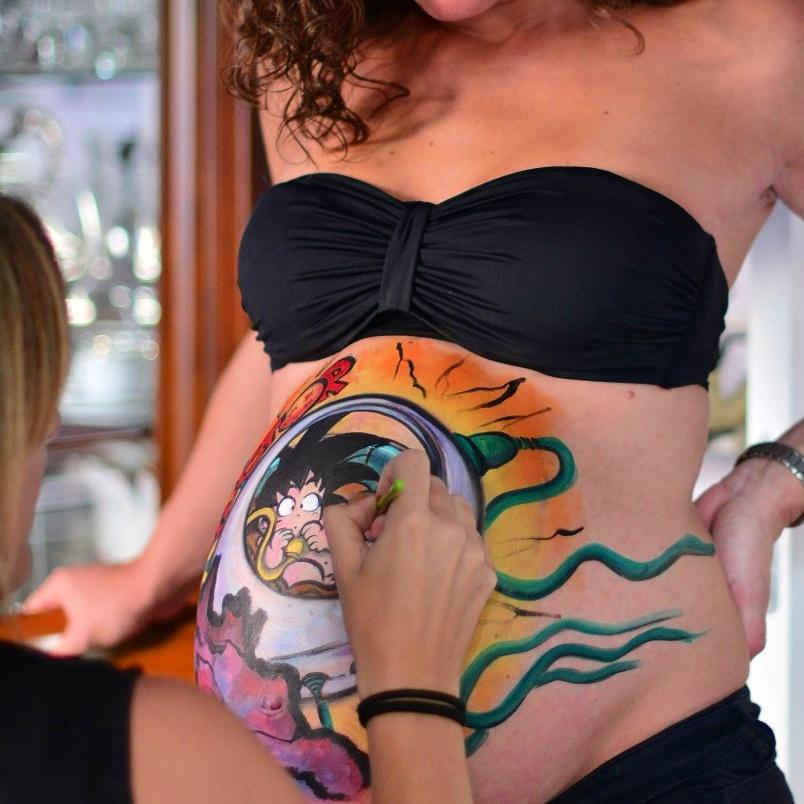 Pintarse durante el embarazo Madrid