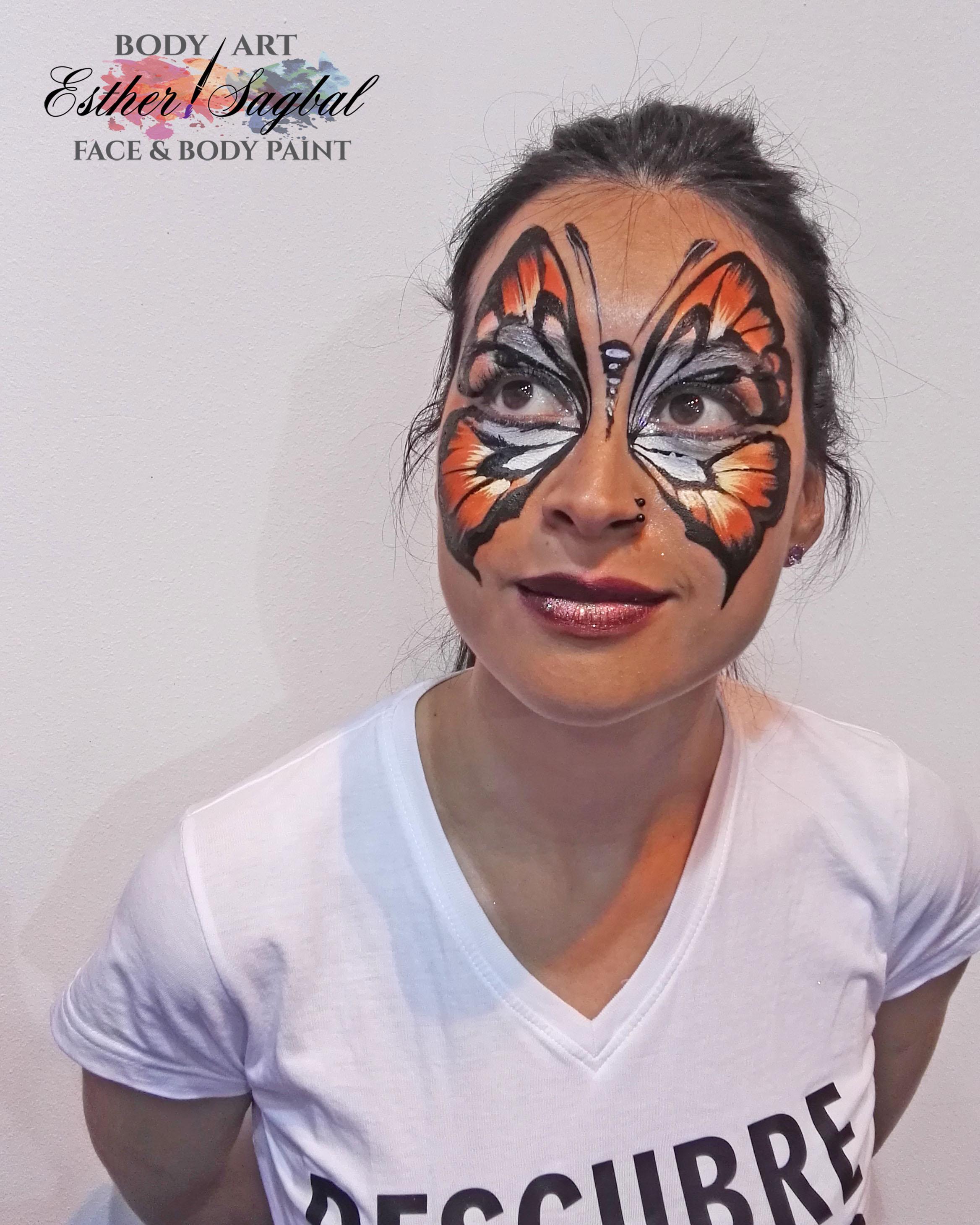 maquillador de fantasía en Madrid