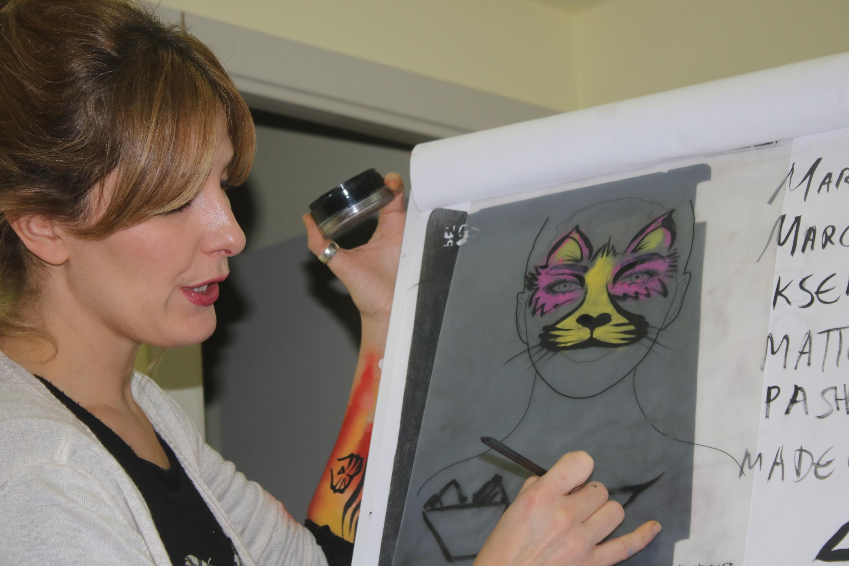 curso de iniciación a pintacaras