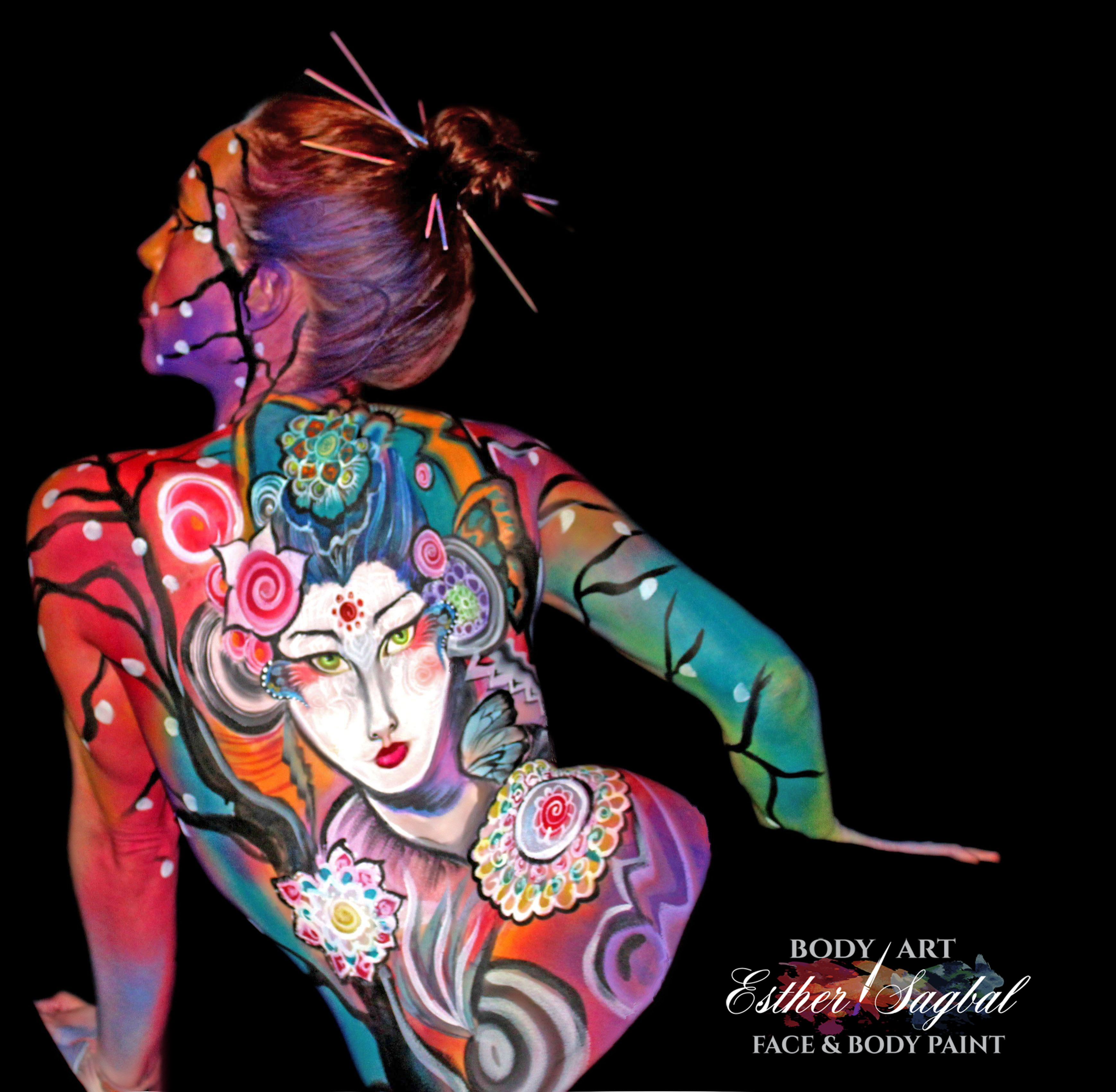 body paint en Madrid