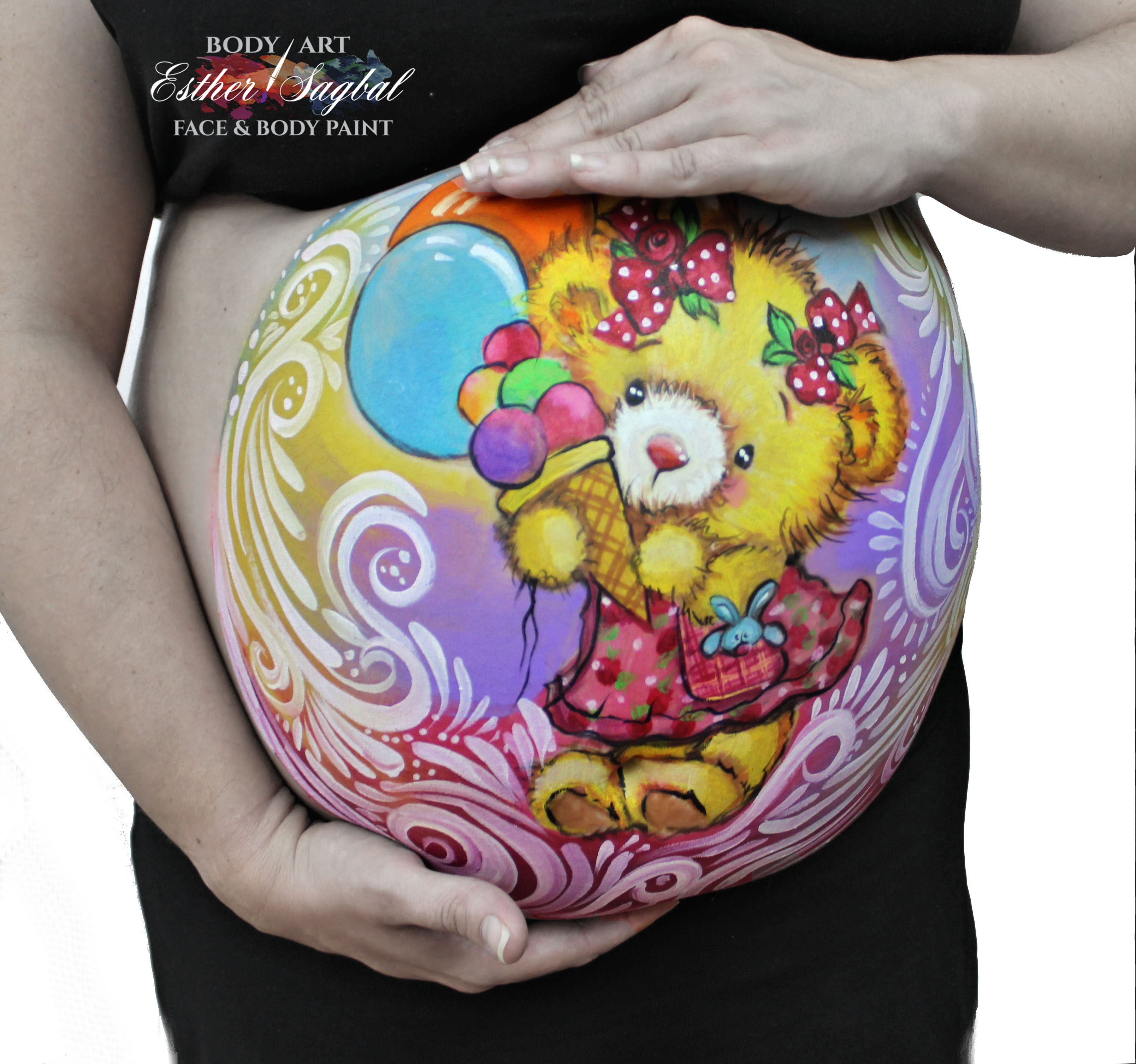 Pintura para embarazadas en Madrid