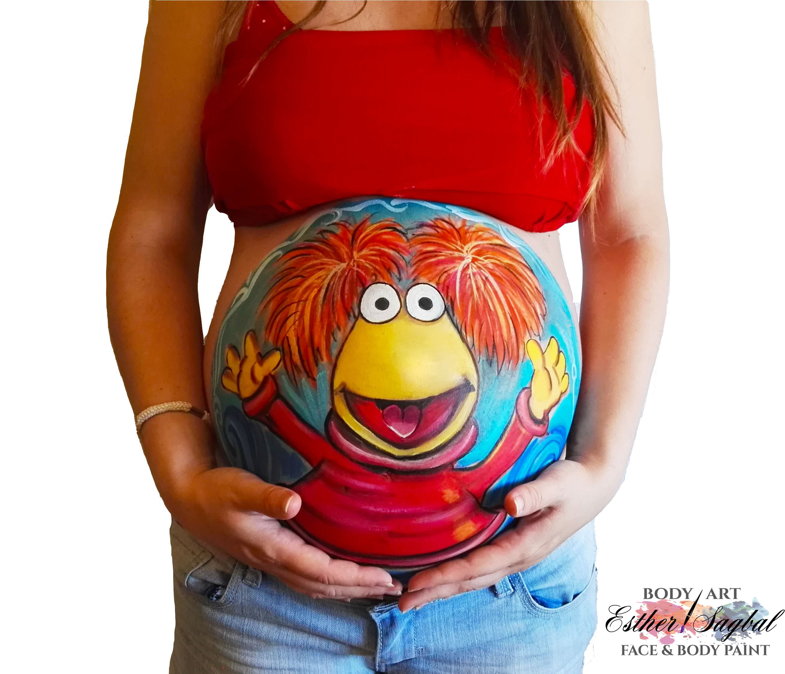 Belly painting embarazadas Madrid