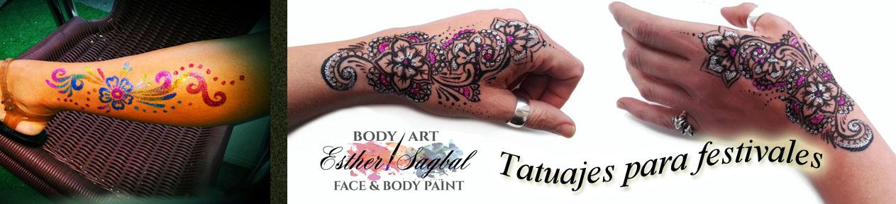 tatuajes para fiestas