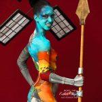 Artista del body paint