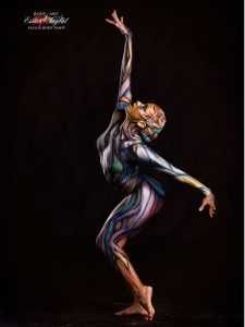 Bodypaint Madrid, bodypainter en Madrid