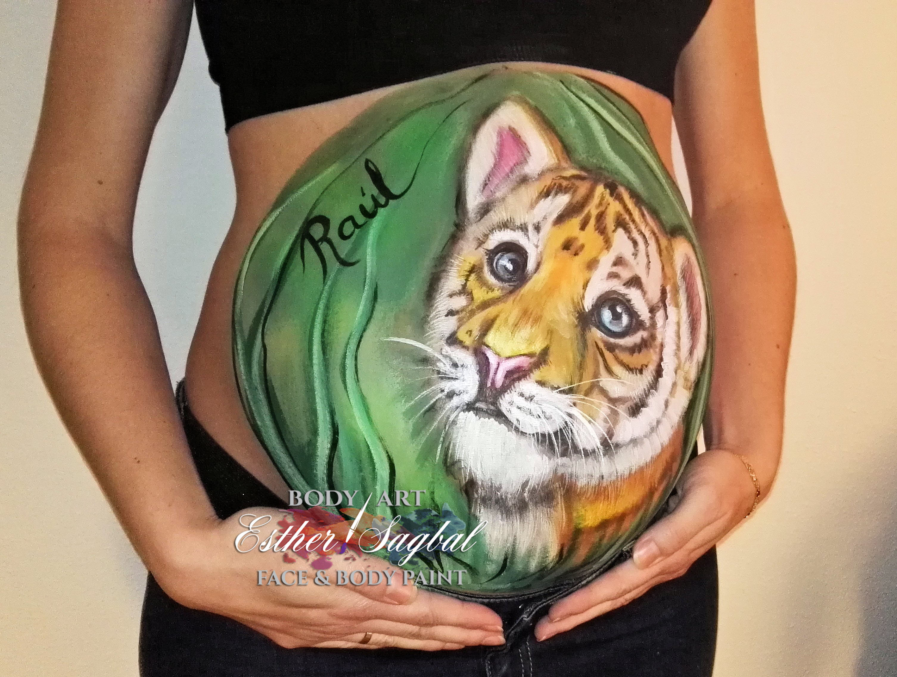 bodypaint embarazo