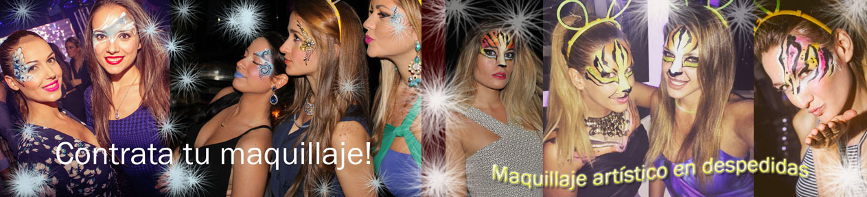 maquillaje discoteca