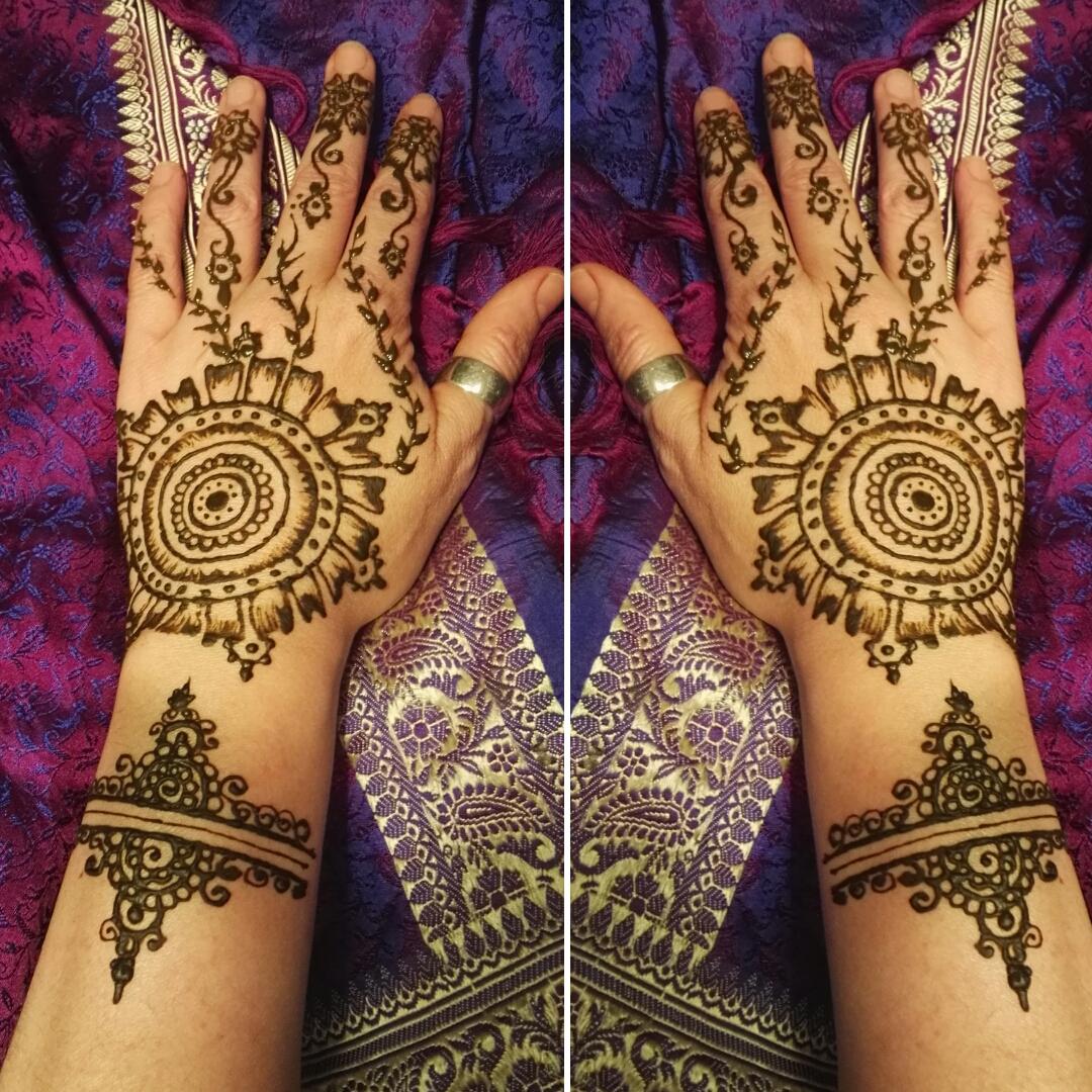 tatuajes con henna para eventos