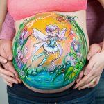 donde pintarse barriga embarazo en Madrid