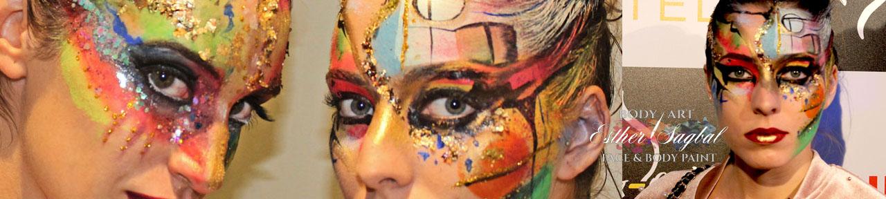 Maquillaje de fantasía para moda
