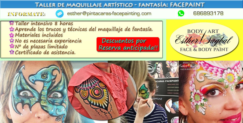 Curso de pintacaras profesional en Madrid