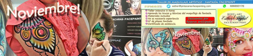 Curso de pintacaras profesional