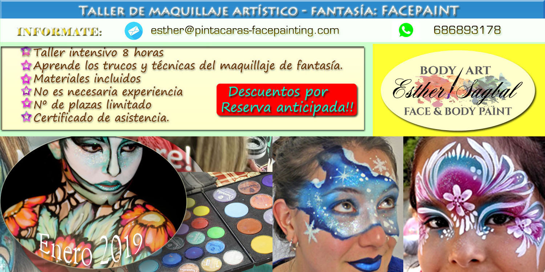 Curso de maquillaje de fantasia profesional