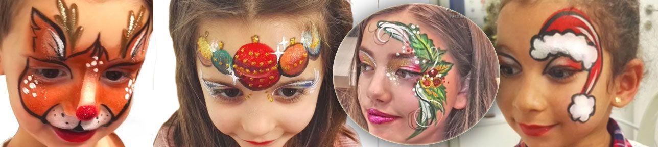 Pintacaras infantil en fiestas de empresa
