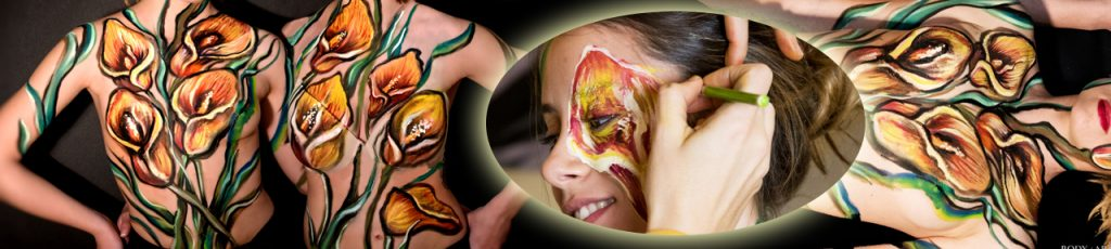 Regalar sesiones de Body paint