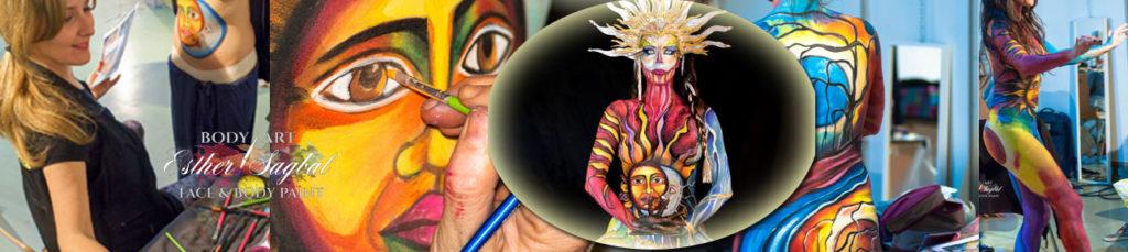 Body paint el arte de pintar el cuerpo