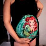 Bodypaint para embarazadas en Madrid