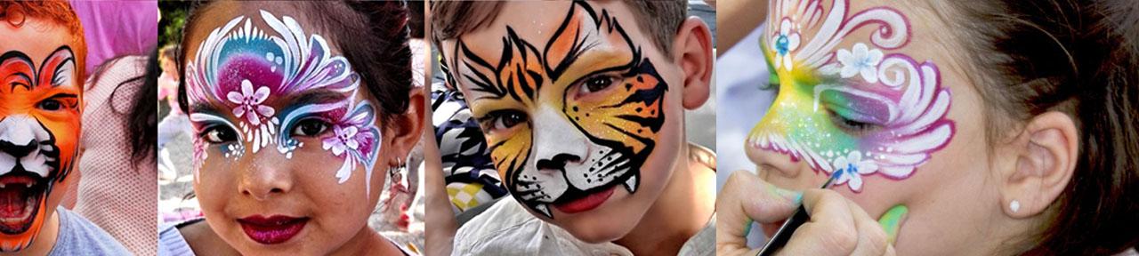 Contratar pintacaras en colegios