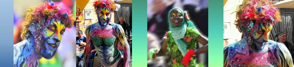 Facepainting carnaval