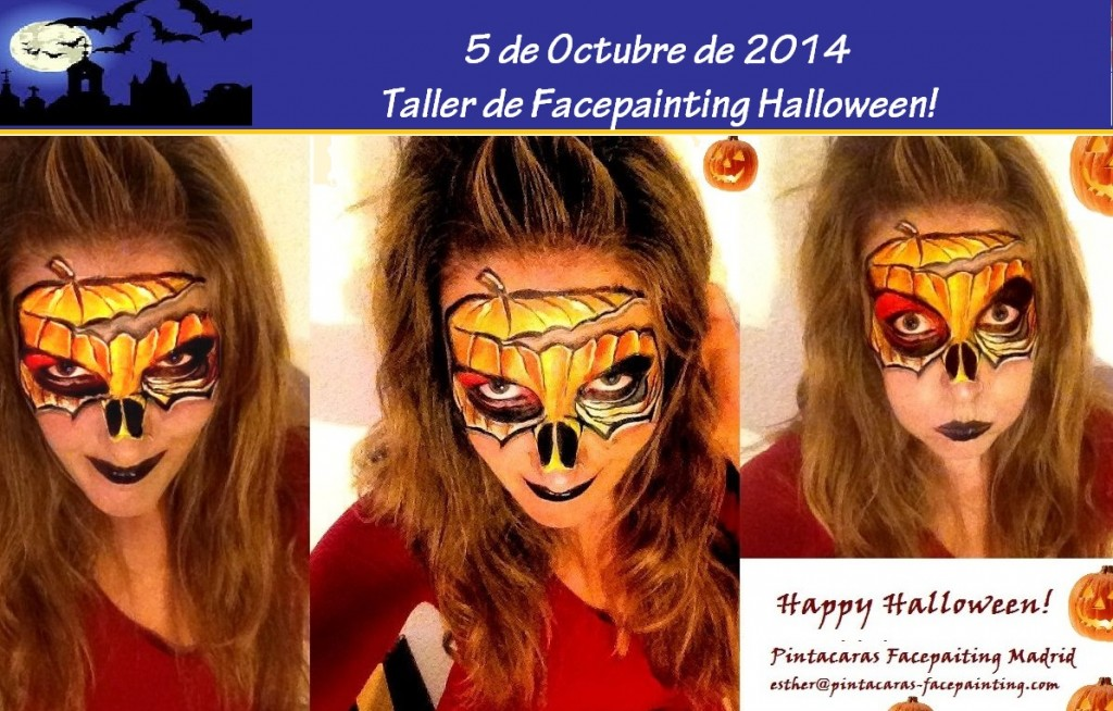 Taller de pintacaras Halloween