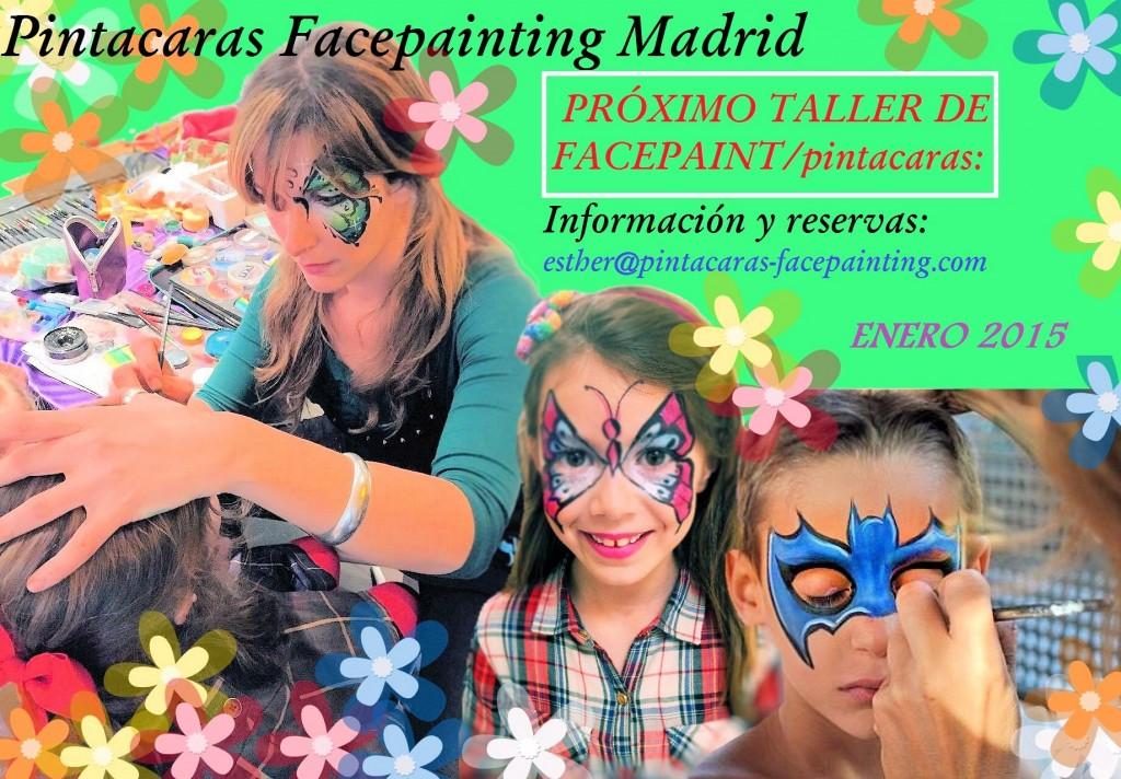 taller de pintacaras, taller de facepaint, curso de pintacaras
