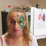 maquillaje de mariposa