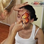 maquillaje de mariposa, taller de pintacaras, curso de facepaint, curso de pintacaras, aprender maquillaje infantil