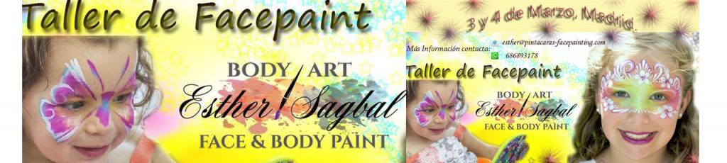 curso de pintacaras en Madrid