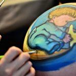 ideas para pintarse la barriga