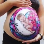 Belly paint Madrid