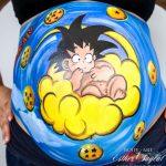 Belly paint Madrid, pintura para embarazadas