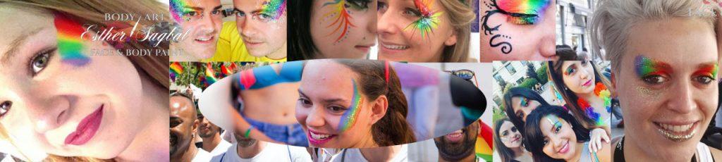 Maquillador de fantasía para festivales y macroeventos