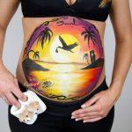 Pintura especial para embarazadas en Madrid
