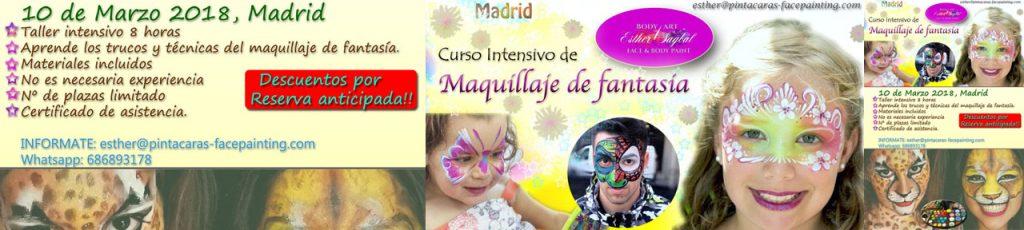 Curso de maquillaje maquillaje infantil profesional