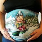 Donde pintarse la tripa de embaraza en Madrid